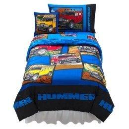 H2 Hummer Twin Size Bedding Set (Comforter, Sheet set)