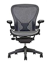 Hot Sale Aeron Desk Chair, Full-Featured PostureFit, Color - Carbon, Medium