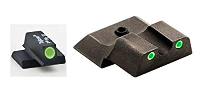 Ultimate Arms Gear SW-145 S&W Smith & Wesson M&P Shield 3 Dot Night Sight Set , from Ultimate Arms Gear