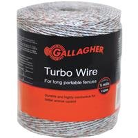 Gallagher G620564 Electric Turbo Wire Fence, 1312-Feet, White