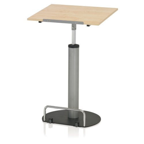 Kettler 06018-273 Standing Desk High Point Basic Silver Maple