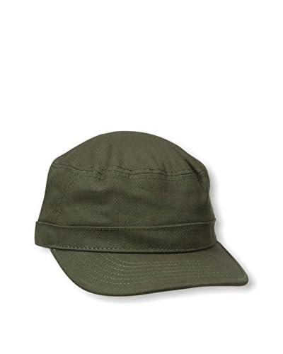 Ben Sherman Men's Herringbone Military Cap