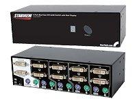 StarTech.com 4 PORT STARVIEW DVI KVM ( SV421DVIDD )