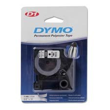 Dymo Corporation Products - Tape Cartridges, Permanent Tape, 1/2