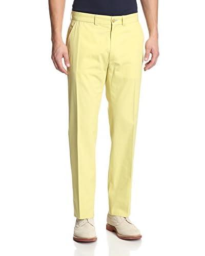 J. McLaughlin Men's Solid Kerouac Twill Pant