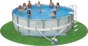 Hot Sale Best Price Purchase Online Now Buy Best Price Intex Ultra Frame Metal Pool 18x52