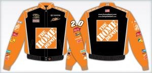 Tony Stewart Home Depot Adult Color Nascar Twill Jacket by RacingGifts