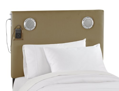 Image of Skyline Furniture Jammin' Kids Mp3 Headboard, Cotton (MP30TDKHK-PARENT)