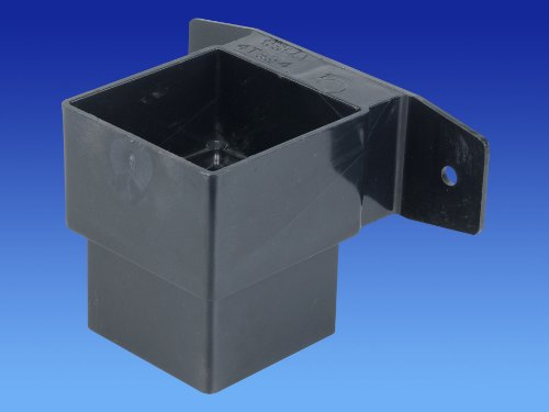 wavin-osma-4t824-black-pipe-connector-and-bracket-stand-off-61mm-square-downpipe