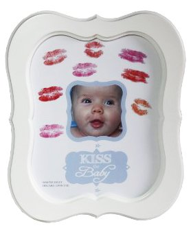 Kiss the Baby Autograph / Photo Frame for Boys