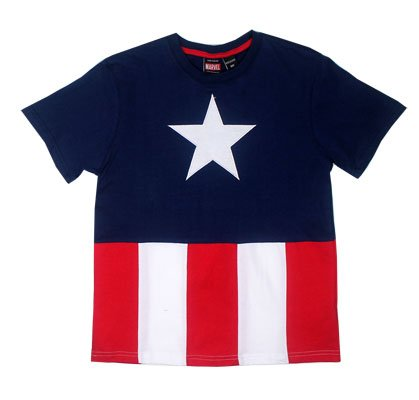MyTeeSpot Men's Captain America Costume