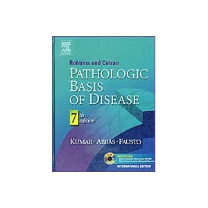Robbins & Cotran Pathologic Basis of Disease: International Edition w/ CD [Hardcover]