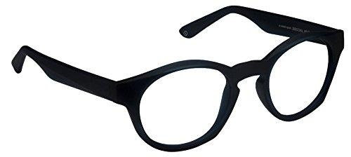 John Jacobs Bold JJ4357 Matte Blue C1 Eyeglasses(101196)