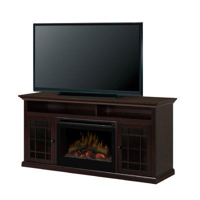 Hazelwood Media Console Electric Fireplace Insert Style: Log Set