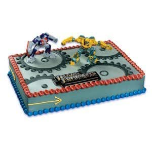 Cake Decorating Kit Images : Amazon.com: Transformers Cake Kit: Toys & Games