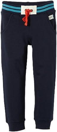 TOM TAILOR Kids Jungen Sweathose 68003200082/sweatpants good luck, Gr. 104, Blau (6622 blue dawn)