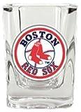 Great American 8900674958 2 oz. Boston Red Sox Square Shot Glass