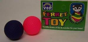 Vo-Toys Ferret Flocked Balls 2 pack Toy