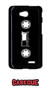 Caseque Vintage Cassette Back Shell Case Cover For LG L70