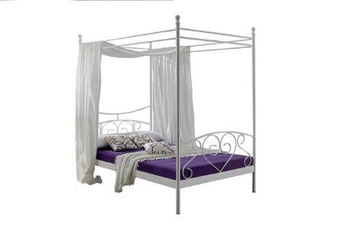 polsterbett kunst lederbett wei 120x200 cm doppelbett. Black Bedroom Furniture Sets. Home Design Ideas