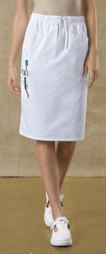 Dickies Women's Everyday Scrubs by Dickies Large Dickies White