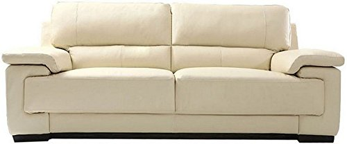 FabHomeDecor Maximus Double Seater Sofa (Cream)