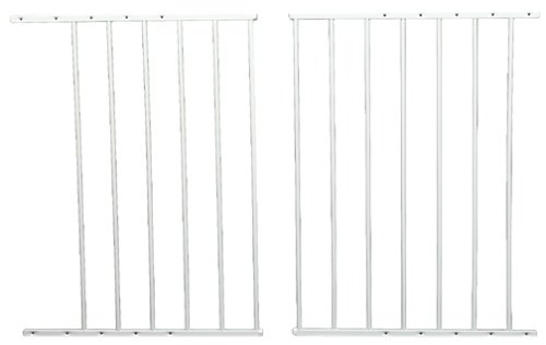 Safeway Wall Mount Top of Stairs Gate White 24.75