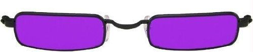 Costumes For All Occasions Els82602 Glasses Vampire Black Purple