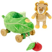FAO Schwarz Baby Lion Pull Toy