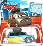 Disney / Pixar CARS Movie 155 Die Cast Car with Lenticular Eyes Series 2 Van with Stickers Chase Piece!