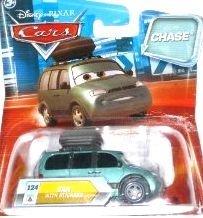 Disney / Pixar CARS Movie 155 Die Cast Car with Lenticular Eyes Series 2 Van with Stickers Chase Piece!