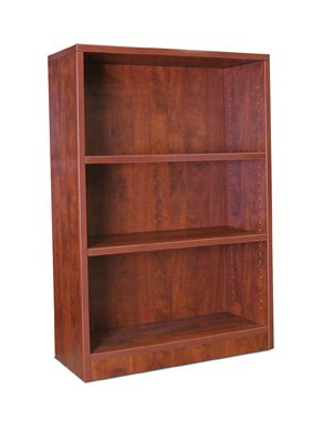 Offices to Go SL48BC Two Shelf Bookcase GLBBK00242 American Mahogany