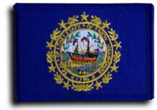 New Hampshire - State Rectangular Patches - Buy New Hampshire - State Rectangular Patches - Purchase New Hampshire - State Rectangular Patches (Flagline.com, Home & Garden,Categories,Patio Lawn & Garden,Outdoor Decor,Banners & Flags)