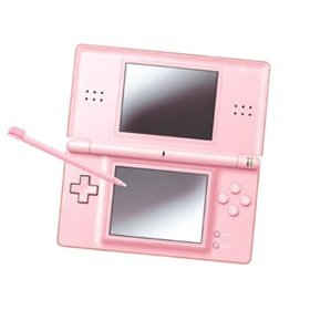 console nintendo ds lite rose jeux vid o. Black Bedroom Furniture Sets. Home Design Ideas