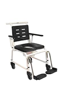 NRS Extra Wide, Attendant Controlled Combi Commode Shower Chair from Nottingham Rehab Supplies (NRS)