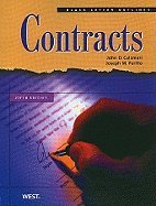 Black Letter Outline on Contracts, 5th edition.[Paperback,2010]