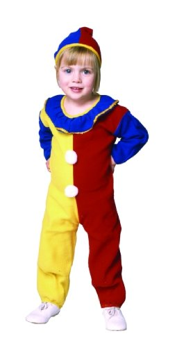 Toddler Baby Clown Costume Size (2-4)