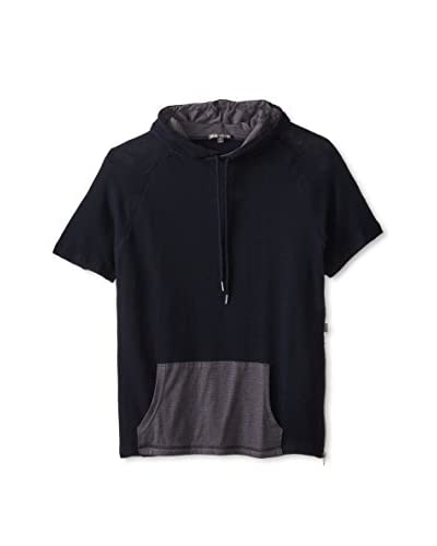 Threads 4 Thought Men's Short Sleeve Side Zip Hoodie