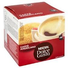 Nescafe Dolce Gusto Caffe Americano Pack of 2, 2x 16 Coffee Pods