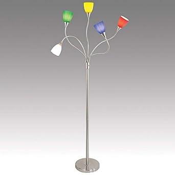 lumisource medusa flr 5arm light bulb floor lamps. Black Bedroom Furniture Sets. Home Design Ideas