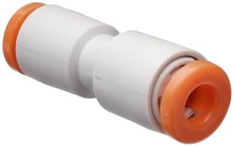 SMC KJH PBT One-Touch Tube Fitting, Reducing Coupler, Tube OD x Tube OD