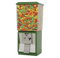 Northwestern Super 60 Candy Machine - Gumball, Peanut Vending (GREEN)
