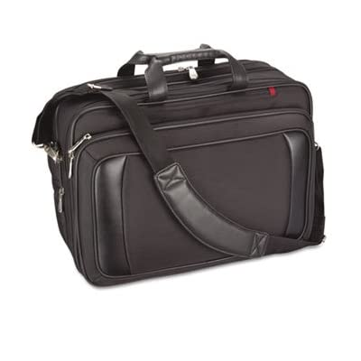 Innovera 22000 - Airport Check-In Friendly 16 Laptop Shoulder Bag w/Cable Pouch, Black