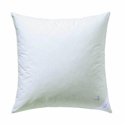 Billerbeck 5454250001 Daunenkissen E07 Platinedition 50, 80/80 cm weiß thumbnail