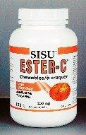 Ester C Chewable-Citrus Punch (120Tablets) Brand: Sisu