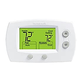 Honeywell TH5220D1029 - FocusPRO Thermostat, Non-Programmable Digital Premier White