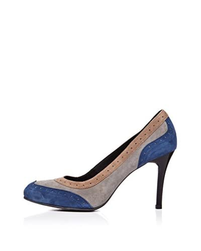 Vilagallo Zapato Gina Topo / Azul