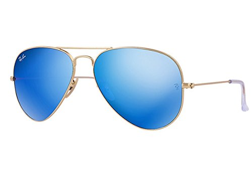 gold aviator ray bans  ray ban aviator matte