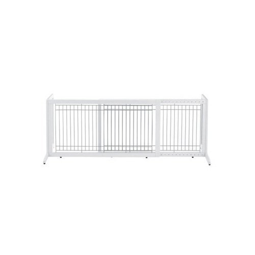 Richell-Wood-Freestanding-Pet-Gate