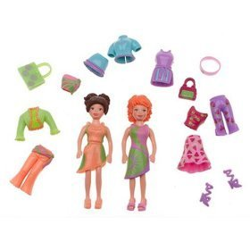 Buy Low Price Mattel Fruity Cuties Polly and Crissy Polly Pocket Play Set Figure (B000MAPMRE)